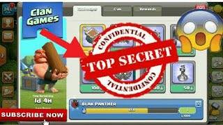 Top Secret 😱 Of CLAN GAMES | Hidden Secret Part-2 | Clash Of Clans | Clash With Bhargav |