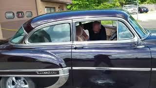 Audio upgrade on a 1953 Chevrolet Belair