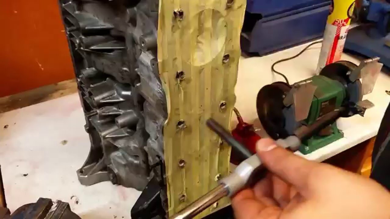 How to install Time-serts on BMW M52/M54 block (head bolt thread repair)