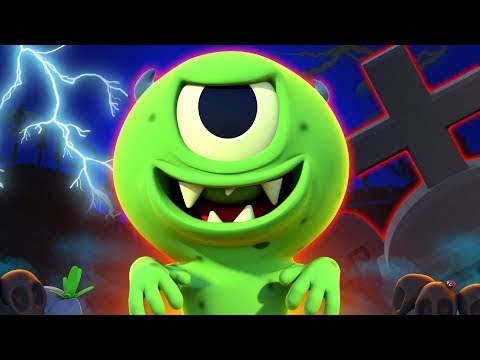 Zombie Had A Little Monster   NEW   Funny Zombie Songs For Kids   All Babies Channel