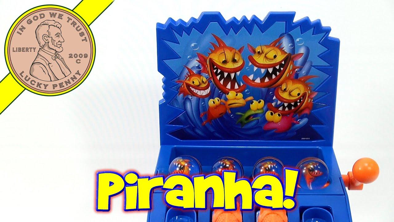 Piranha Panic Game – Race To Escape The Feeding Frenzy!, Mattel Toys 2006