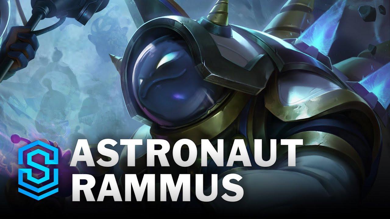Astronaut Rammus Skin Spotlight - League of Legends