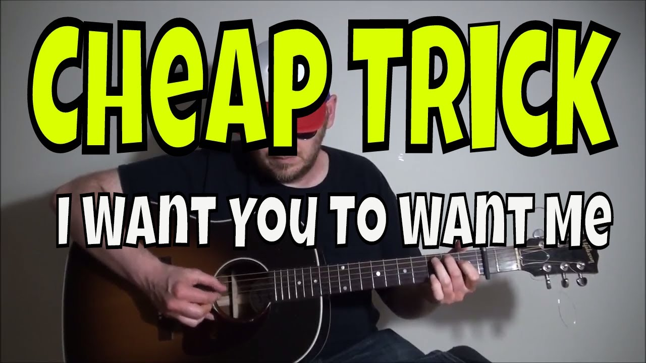 cheap trick i want you to want me fingerstyle guitar cover youtube. Black Bedroom Furniture Sets. Home Design Ideas