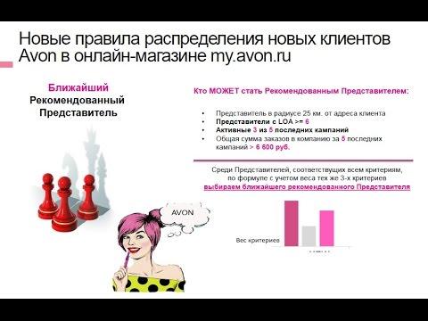 Как открыть свой интернет магазин Мой Avon ru для представителей ... 003dc7316ccc9