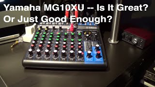 Home Studio - Yamaha Mixer - Quick Review