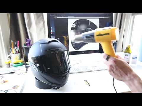 Remove Sticker Residue from Matte Helmets (Shoei X 14)