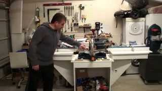 My Mitre Saw Station And Shop-vac Cart