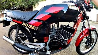 RD135Z # Curiosidades da moto e pau na twister