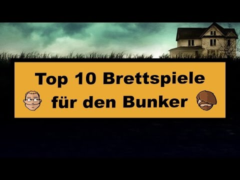 Top 10 Brettspiele für den Bunker - 10 Cloverfield Lane Gewinnspiel