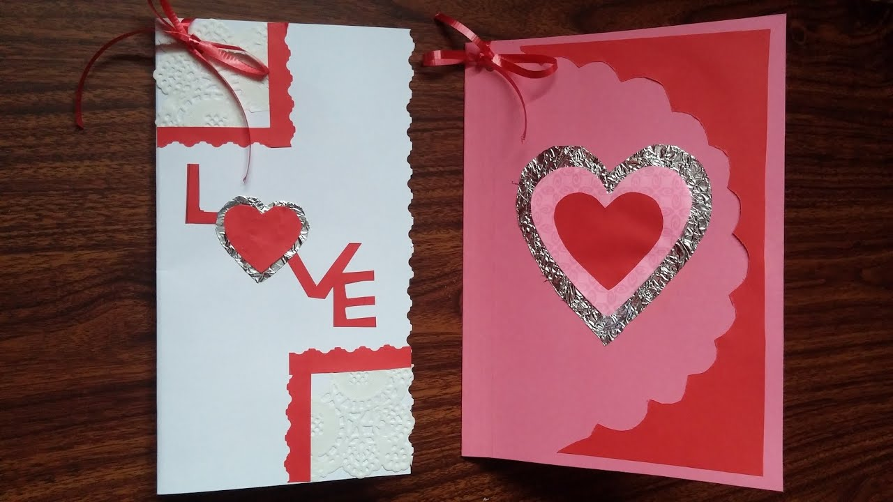 Birthday cards Valentines Day cards Mothers day cards DIY – Birthday on Valentine Day Card