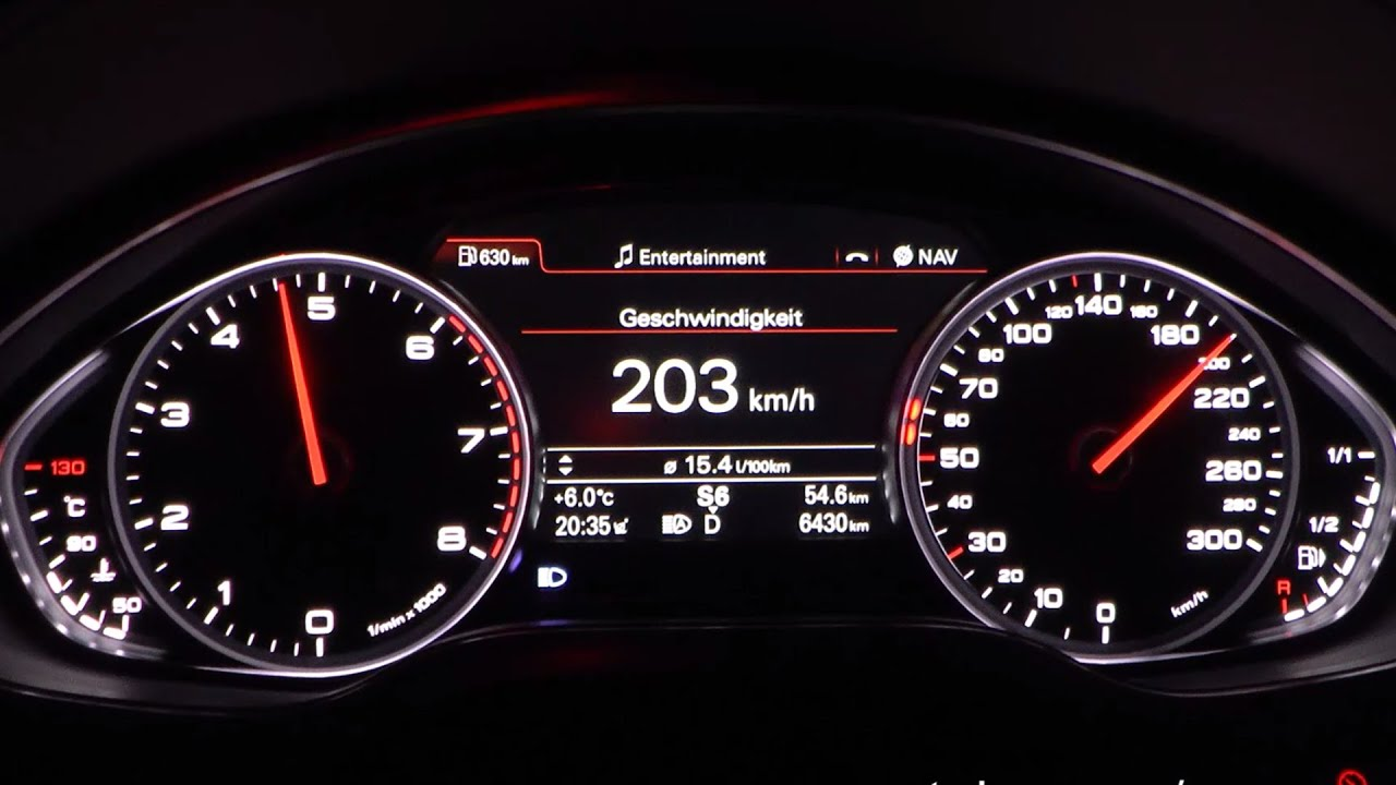 2015 Audi A8 4 0 TFSI quattro 435 HP 0 100 km h 0 100 mph & 0 200