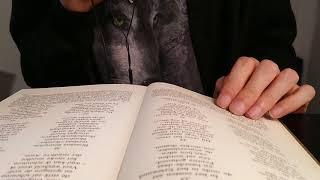 ASMR in Dutch - reading Völuspá from the Edda.