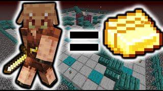 Easy Piglin Farm! (650 piglin/hr) | 1.16-1.16.2+ Minecraft