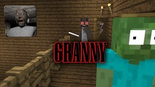 Monster School : GRANNY HORROR GAME feat Pennywise ( SUPER SCARY! )