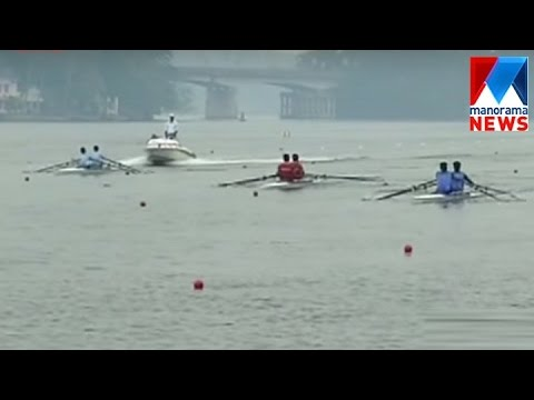National rowing championship begins in Kollam | Manorama News
