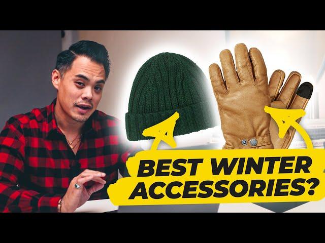 The Best Winter Accessories For Men + Men's Sweaters and Fleece Jackets • Effortless Gent