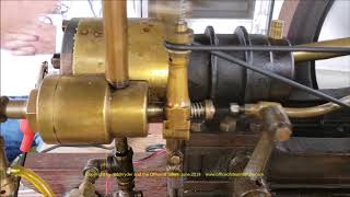 1890's  A J Weed Gas Engine  1/2 hp  at Orange Show 2019