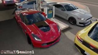 vuclip Forza Horizon 3: 600hp Drag Meet BMW's, Stangs, Focus, Monte, & More