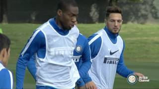 ALLENAMENTO INTER REAL AUDIO 16 10 2015