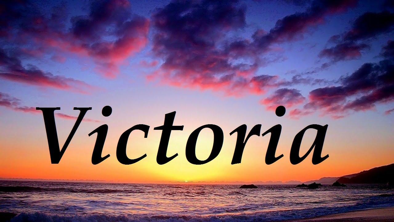Victoria, significado y origen del nombre - YouTube