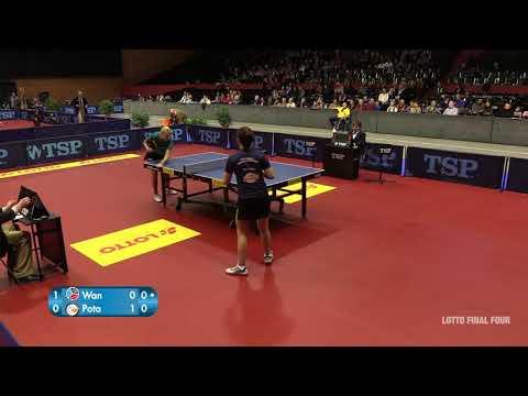 LOTTO Final Four 2018-Halbfinale: Georgina Pota - Yuan Wan (14.1.2018)