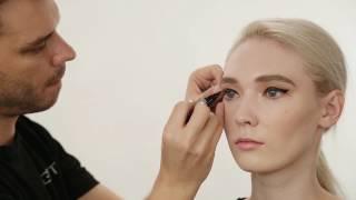Классический макияж с использованием продуктов из коллекции Russian Fall (Русская осень)