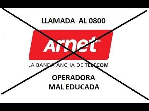 Llamada A ARNET - Servicio Impresentable