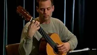 Ian Knowles classical guitar plays Lauro, Buxtehude, Giuliani, and Brouwer