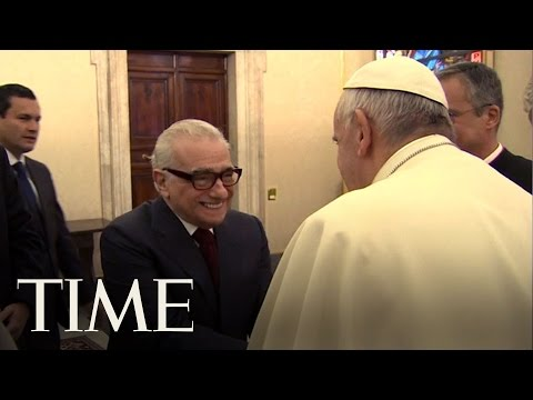 Pope Francis Met Martin Scorsese To Discuss His New Movie About Priests   TIME