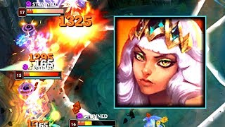 500+ AD QIYANA! New Champ Damage Test!