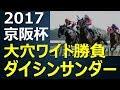 2017京阪杯競馬予想~ダイシンサンダーから大穴勝負の巻~