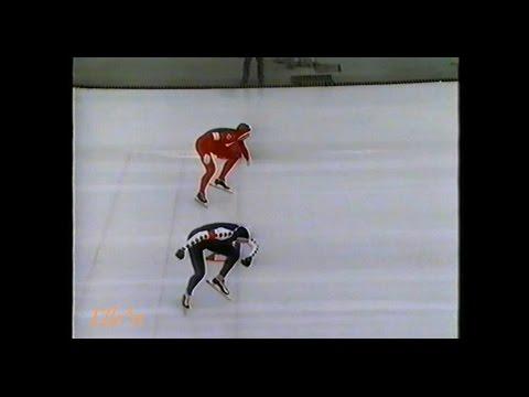 European Championships Allround Sarajevo 1991 - 10 km Koss - Veldkamp