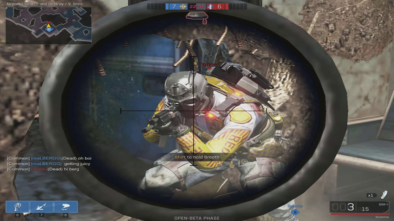 Ironsight® is a futuristic military First Person Shooter