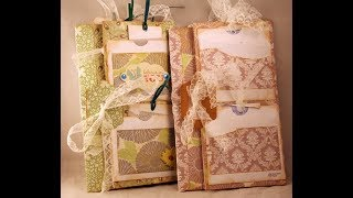 Many of you requested that I make a tutorial of my recycled envelop...