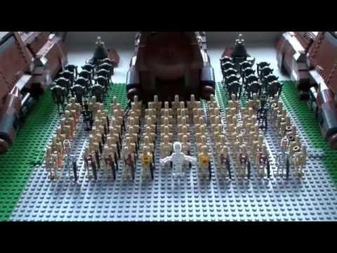 My lego star wars droid army 2008 youtube - Lego star wars base droide ...