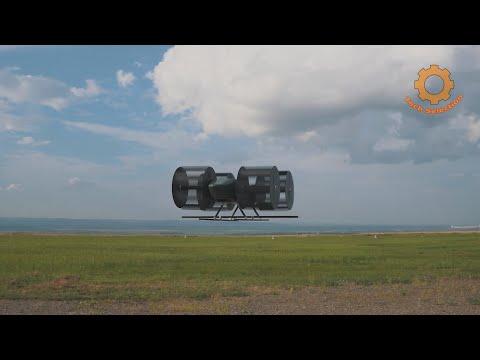 Первый русский циклолет поднялся в воздух