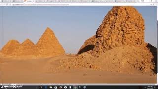Royal Tombs/Pyramids of Kush In El-Kurru & Nuri