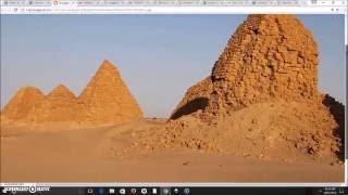 Royal Tombs/Pyramids of Kush In El-Kurru & Nuri