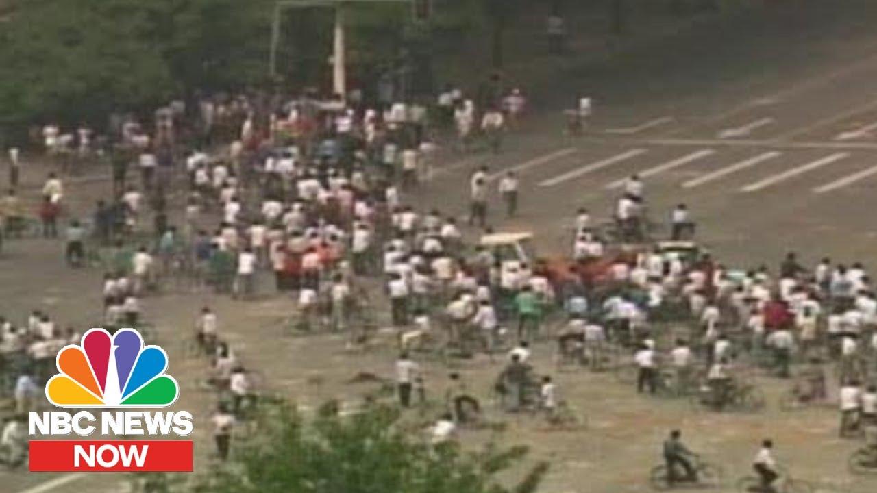 In photos: World remembers Tiananmen Square Massacre