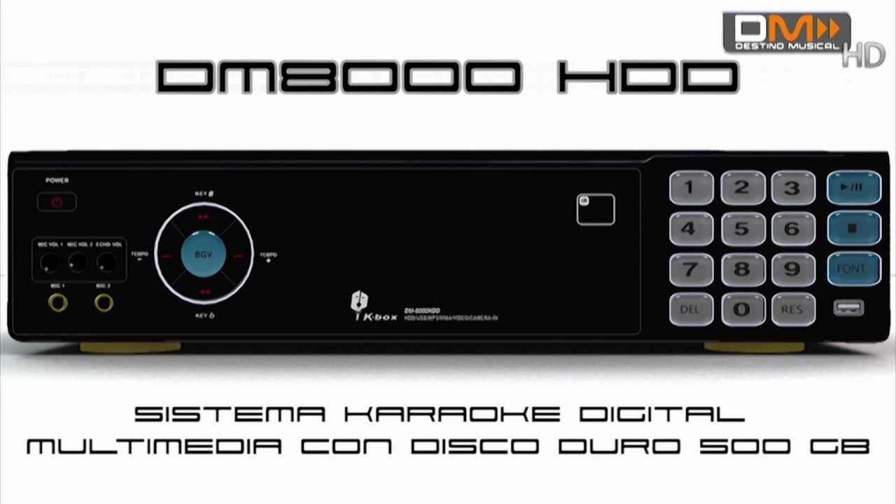 DM8000 HDD