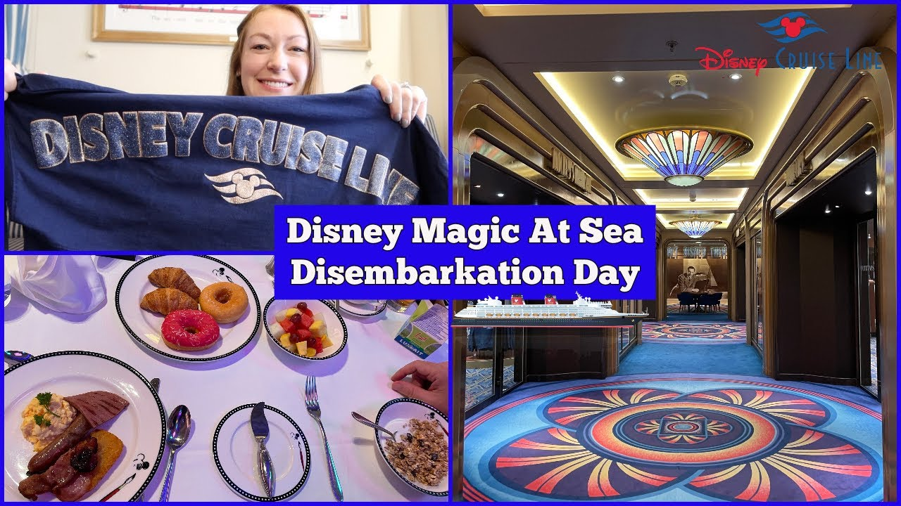 Disembarkation Day! Mini Haul l Disney Magic At Sea UK Staycation Cruise l DCL Vlogs l aclaireytale