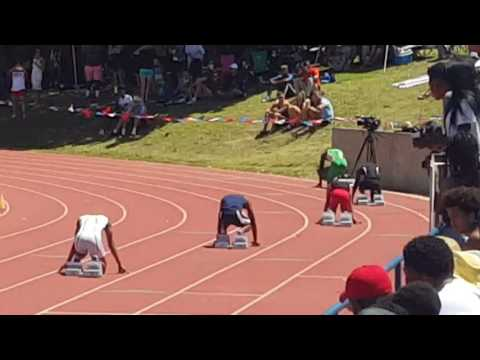Eagleslanding high-school McDonough ga 4x100m relay....  2nd place at the state championship 2016