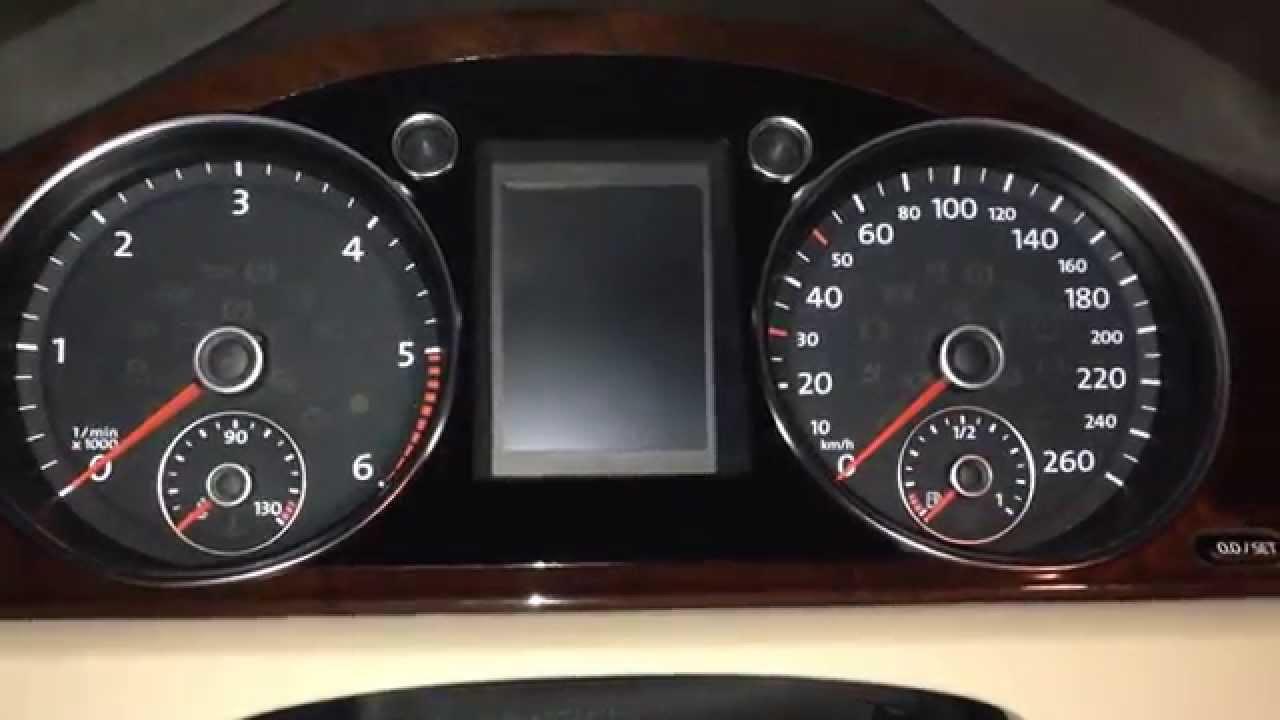2013 volkswagen passat tdi oil reset