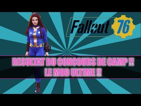 FALLOUT 76: RESULTAT DU CONCOURS DE CAMP / LE MOD ULTIME !!! thumbnail