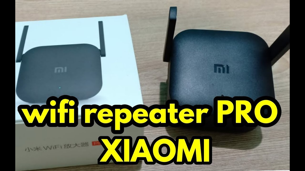 XIAOMI wifi repeater PRO 300mbps