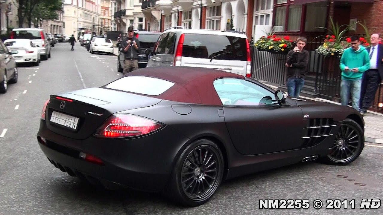 Mercedes Mclaren Slr 722s Roadster Start Up Amp Sound Youtube