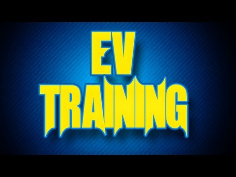Competitive Battling Guide: Lesson 1 - EV Training