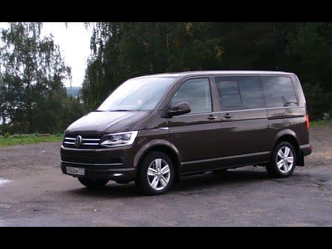 VW Caravelle Test-drive