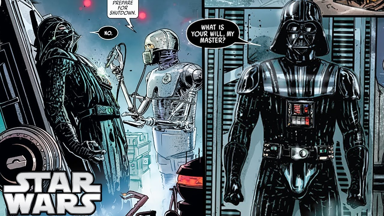 Vader Capeless is a Thing Now - CANON Vader Part 12