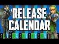 Release Calendar - March 21-27, 2016